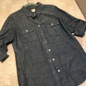 J.Crew denim shirt